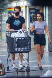 Camila Mendes - Shopping at Bed Bath & Beyond in Hollywood 08/14/2020