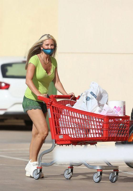 Caprice Bourret at Supermarket in Ibiza 08/11/2020