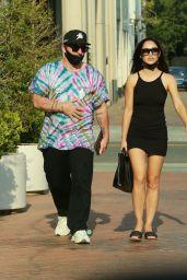 Cara Santana With New Beau Shannon Leto 08/19/2020