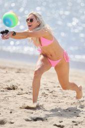 Charley Bond in a Pink Bikini - Beach at Gold Coast 08/16/2020