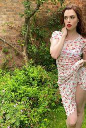 Charli Howard - Racy Self Isolation Photoshoot 2020
