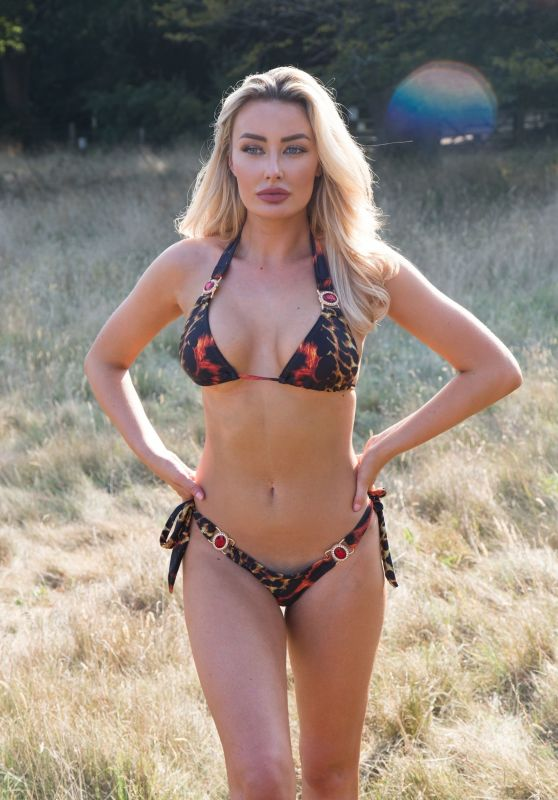 Chloe Crowhurst in a Bikini - Photoshoot 08/17/2020