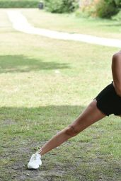 Chloe Crowhurst - Morning Workout in Chigwell Essex 08/22/2020