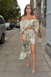 Chloe Ross at Smiths Fish Restaurant in London 08/22/2020