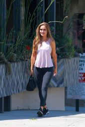 Chrishell Stause - Out in West Hollywood 08/27/2020
