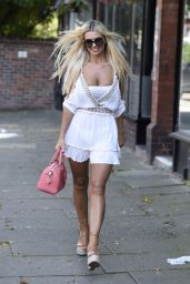 Christine McGuinness at KP Aesthetics in Manchester 07/31/2020