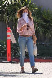 Cindy Crawford Street Style - Cafe Habana in Malibu 07/30/2020