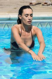 """Clelia Theodorou - """"The Only Way is Essex"""" TV Show Filming in Essex 08/10/2020"""