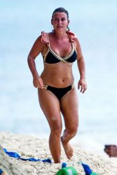 Coleen Rooney in a Bikini - Barbados 08/13/2020