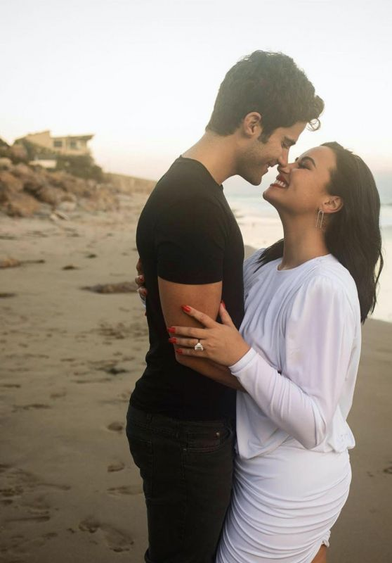 Demi Lovato and Max Ehrich - Engagement Photoshoot 07/22/2020