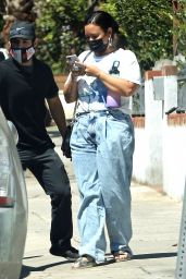 Demi Lovato - Out in Los Angeles 08/26/2020