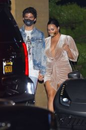 Demi Lovato With Her Fiance at Nobu in Malibu 08/02/2020