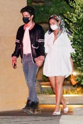 Demi Lovato With Her Fiancé at Nobu in Malibu 08/29/2020