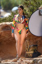 Demi Rose - Photoshooting in Ibiza 08/09/2020
