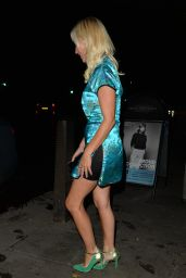 Denise Van Outen at Her Cabaret Show at Proud Embankment in London 08/28/2020