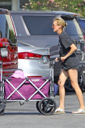 Diane Kruger - Farmers Market at the Grove in LA 08/28/2020