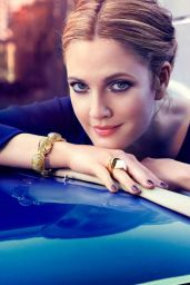 Drew Barrymore - Photoshoot for InStyle Magazine US September 2013