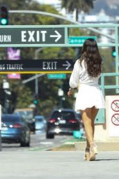 Eiza González Summer Style - Out in Beverly Hills 08/07/2020