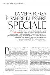 Ellen Page - Grazia Italy 07/30/2020 Issue