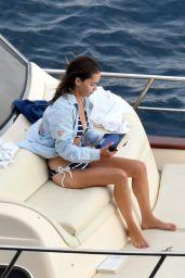Emilia Clarke in a Bikini on Holiday in Italy 08/07/2020