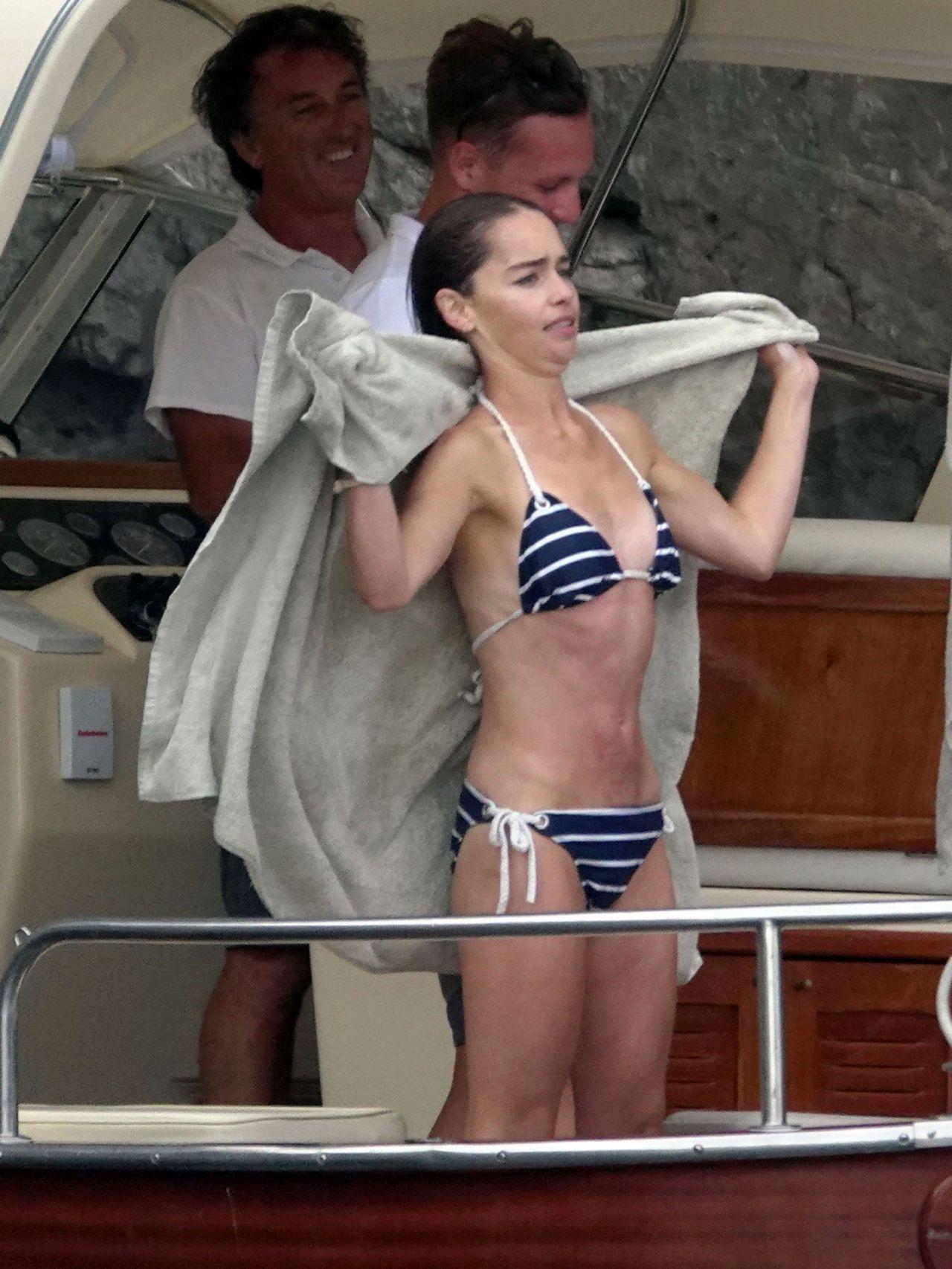 Emilia Clarke Bikini