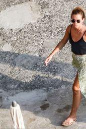 Emma Watson on Holiday in Italy 08/04/2020
