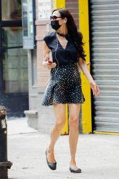 Famke Janssen - Out in New York City 08/20/2020