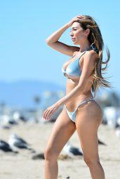 Farrah Abraham in a Blue Bikin at the Beach in Malibu 08/05/2020