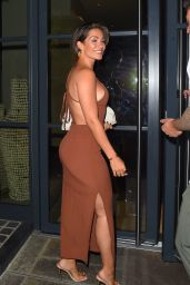 Frankie Bridge Night Out Style - Sexy Fish for Waynes 40th Birthday in London 08/05/2020