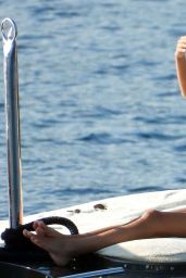 Frida Aasen in a Bikini on a Yacht in South of France 08/14/2020