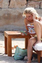 Gabby Allen in a skimpy Little Bikini - Ibiza 07/30/2020