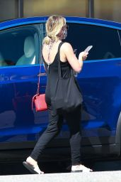 Hilary Duff - Out in Studio City 08/29/2020