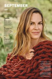 Hilary Swank - Health Magazine September 2020 Issue