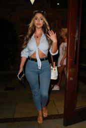 Holly Hagan, Beach Leonie, Che Mcsorley and Zahida Allen Nightout at Dukes92 Bar in Manchester 08/12/2020