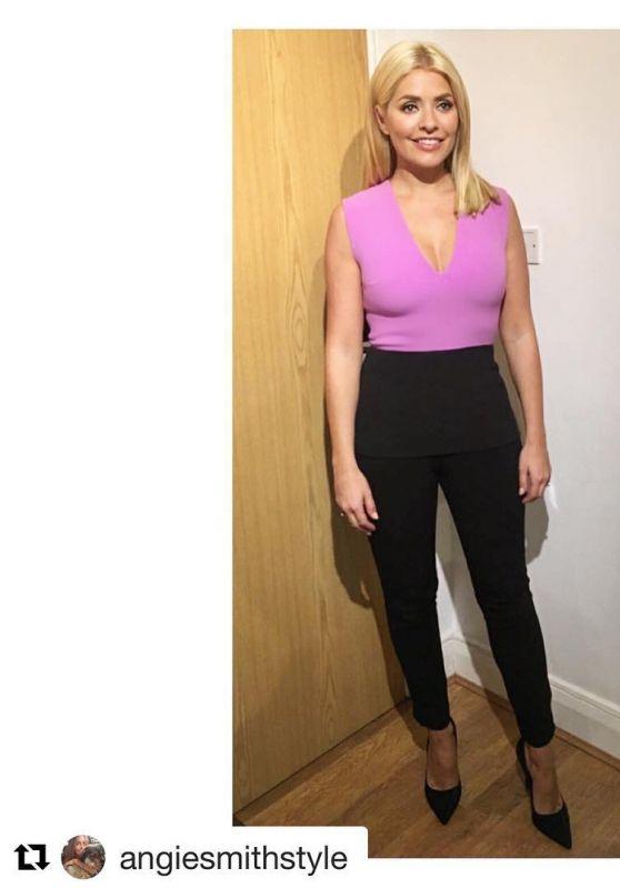Holly Willoughby - Social Media Photos 08/25/2020