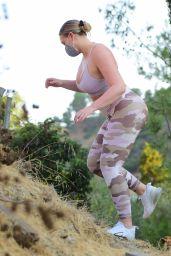 Iskra Lawrence - Hike in Los Angeles 08/30/2020