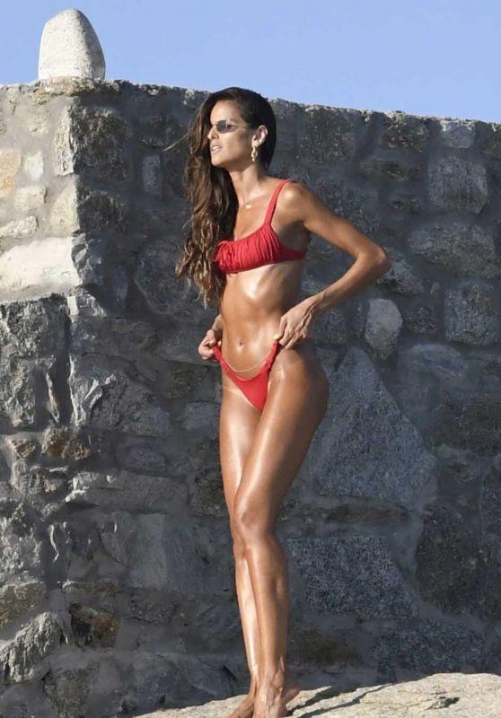 Izabel Goulart - Photoshoot at Her Hotel in Mykonos 08/13/2020