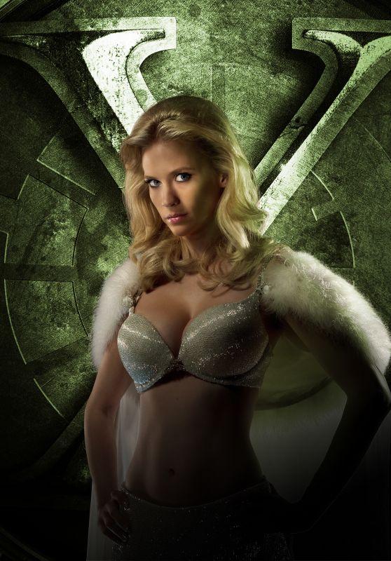 January Jones – X-Men: First Class Promoshoot (2011)