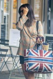 Jenna Coleman - Out in Notting Hill 08/12/2020