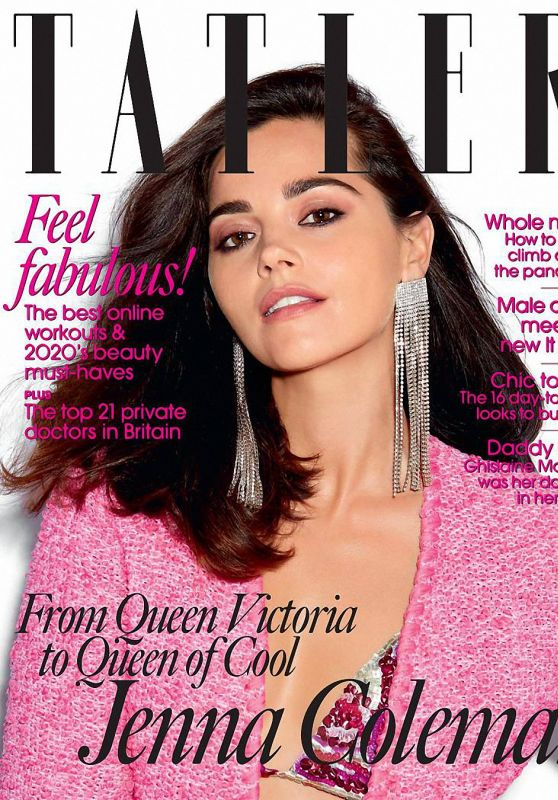 Jenna Coleman - Tatler Magazine October 2020