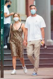 Jennifer Lawrence With Cooke Maroney - NYC 08/24/2020
