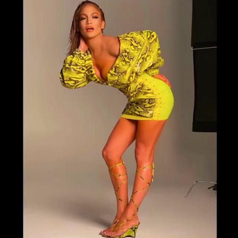 Jennifer Lopez a partagé cette photo delle en story sur