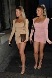 Jess Gale and Eve Gale Night Out in Liverpool 07/29/2020