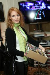 Jessica Chastain - HBO Luxury Lounge in Beverly Hills 01/16/2010
