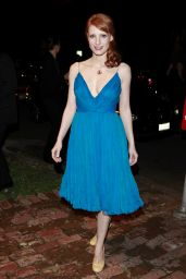 Jessica Chastain - Kimberly Brooks' The Stylist Project Exhibition in LA 03/01/2010