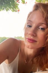 Jessica Chastain – Social Media Photos 08/05/2020