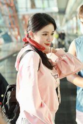 Joey Chua - Arrives at a Shanghai Airport 08/22/2020