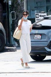 Jordana Brewster - Out in LA 08/21/2020