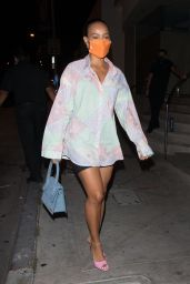 Karrueche Tran Night Out Style - Catch in LA 08/22/2020