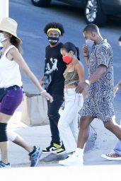 Karrueche Tran With Boyfriend Victor Cruz 08/08/2020